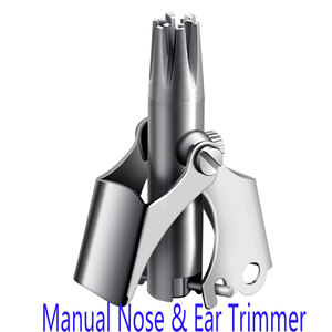 Manual Nose Hair Trimmer Steel