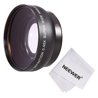 Neewer 52MM 0 45x Wide Angle Lens With Macro For NIKON DSLR Cameras Microfiber Cleaning Cloth