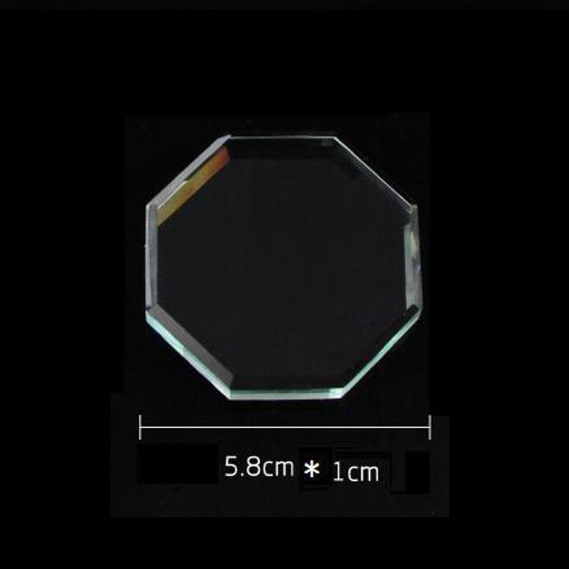 Mtssii Nail Art Palettes Acrylic Transparent Octagon Nail Polish ...