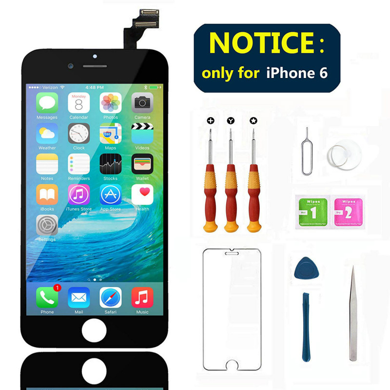 LCD Touch Screen Full set For iPhone 6 6S LCD Display Assembly With Digitizer Glass No Dead Repair Part For iPhone 6 6S Plus image