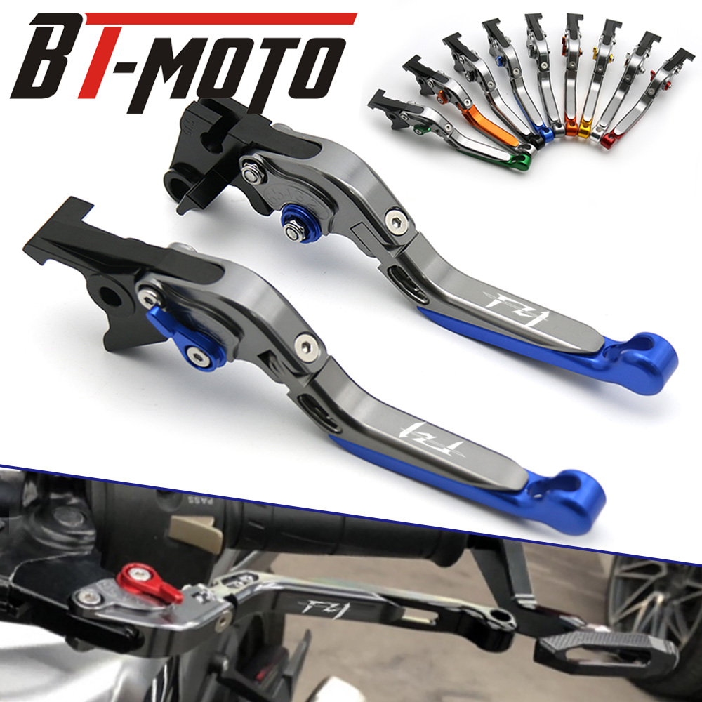 Motorcycle CNC Adjustable Folding Extendable Brake Clutch Lever FOR YAMAHA FZ1 FAZER 2001 2004 2005 Brake Lever Clutch Handle