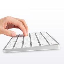 Bluetooth Keyboard Ultra Thin Ergonomic Wireless Multimedia 78 Key For Desktop Laptop Tablet Computer Bluetooth Gaming keyboard