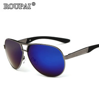 ROUPAI Brand Luxury Polarized Sun Glasses For Men 2017 Latest Trends Male Driving Shades Glasses Vintage