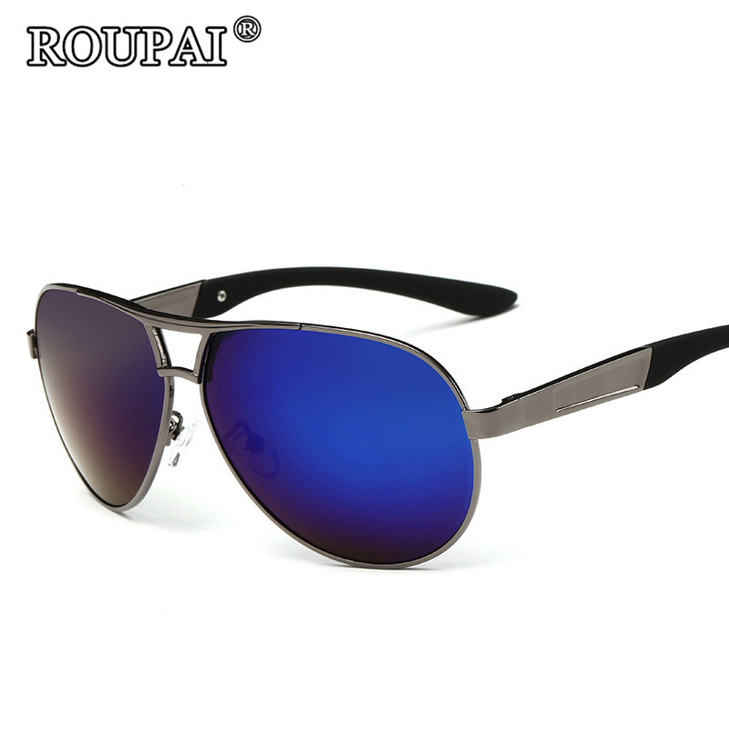 ROUPAI Brand Luxury Polarized Sun Glasses For Men 2017 Latest Trends Male Driving Shades Glasses Vintage Sunglasses Eyeglass