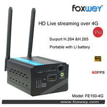 HD HDMI Live Streaming Devices H.265 Encoder Hardware for Video streaming over 4G encoder Digital camera hot shoe mount foxwey
