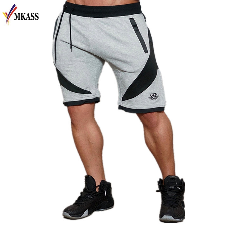 2020 New Sale Men Sporting Beaching Shorts Trousers Cotton Bodybuilding Sweatpants Fitness Short Jogger Casual Gyms Men Shorts