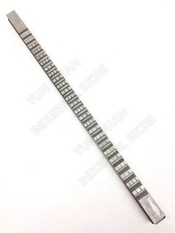 Push tipo de Alta Velocidade de Aço Ferramenta de Corte para Cnc Máquina para Metais Abordar Chaveta Brochar 22mm f Hss