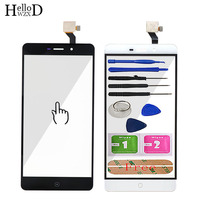 5 5 Mobile Touch Glass For Elephone P9000 P9000 Lite P9000E Touch Screen Front Glass Digitizer