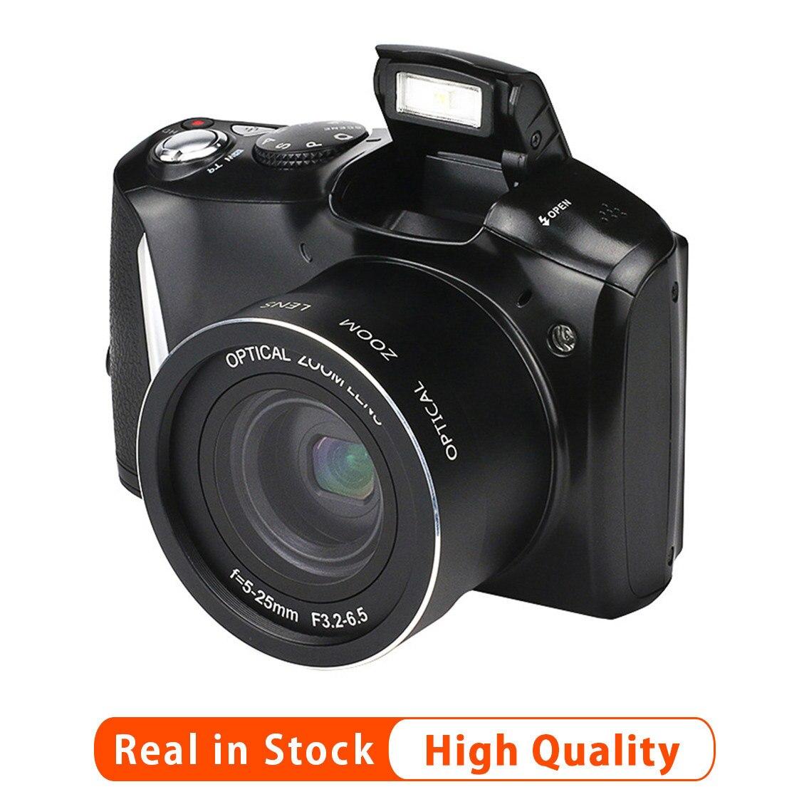 Nova 24 Megapixel HD Telefoto Câmera Digital SLR 14MP CMOS 20 Vezes Zoom Digital SLR Câmera Com Tela de 3.5