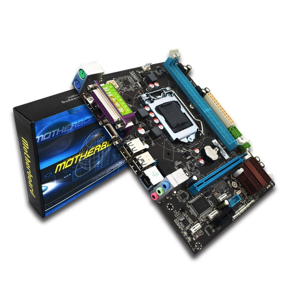 H110 Desktop PC Board Motherboard LGA1151 Support 16 Graphics Card DDR3 Upgrade USB3.0 VGA System Main Board biostar h110mds2 pro d4 1151 h110 motherboard support g4560 i3 7100 micro atx desktop computer motherboard solid state capacitor