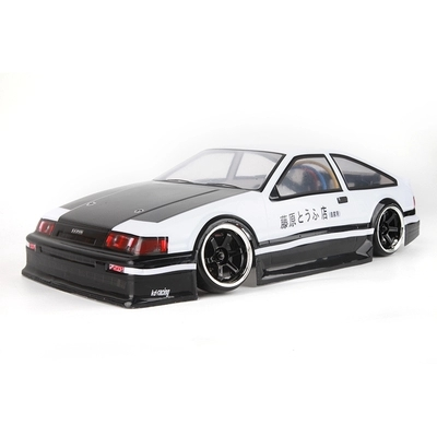 RC Drift Car 1:10 Flat Running On-Road Car PVC 190MM AE86 Body Shell For HSP/HPI/Tamiya/ Kyosho/Sakura 94122 94123 D3 D4 CS R31