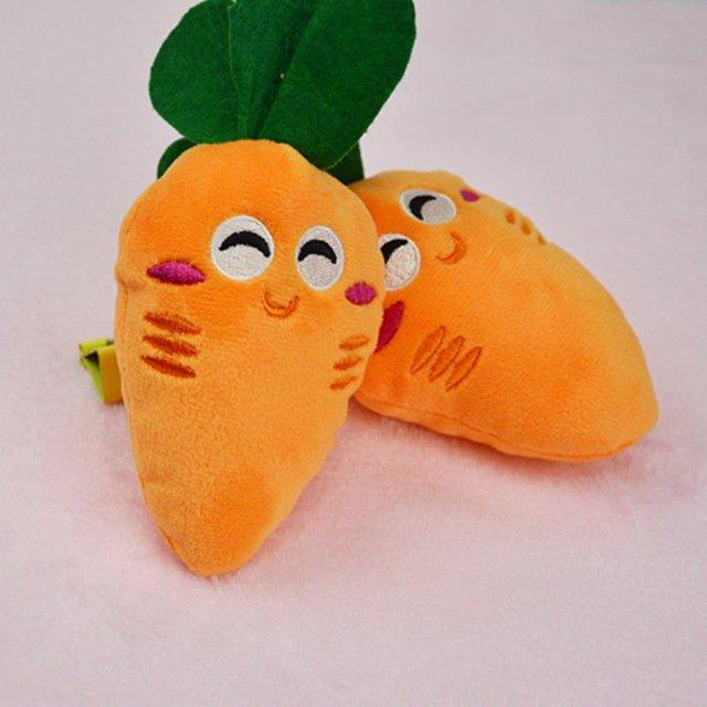 Zwierzęta Chew Piszczałka Piskliwy Owoce Warzywa I Butelki Do Karmienia Psa Zabawki Pluszowe Dźwięku 13 Wzory
