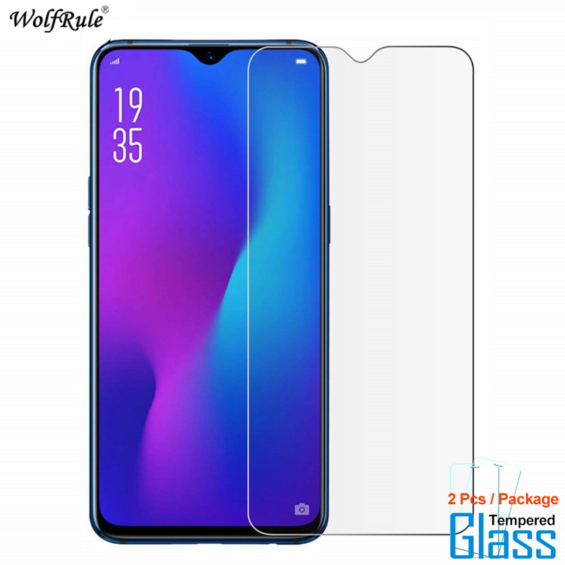 2Pcs For Glass OPPO RX17 Neo Screen Protector Tempered Glass For OPPO K1 Glass Protective Phone Film For OPPO R15X