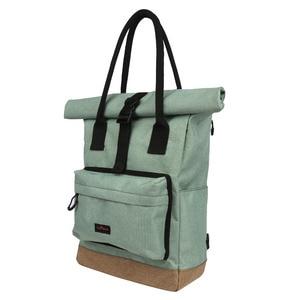 Image 2 - Tourbon Vintage Bicycle Bag Retro Bike Pannier Bags Cycling Rear Pack Seat Leisure Crossbody Shoulder Laptop Bag City Backpack