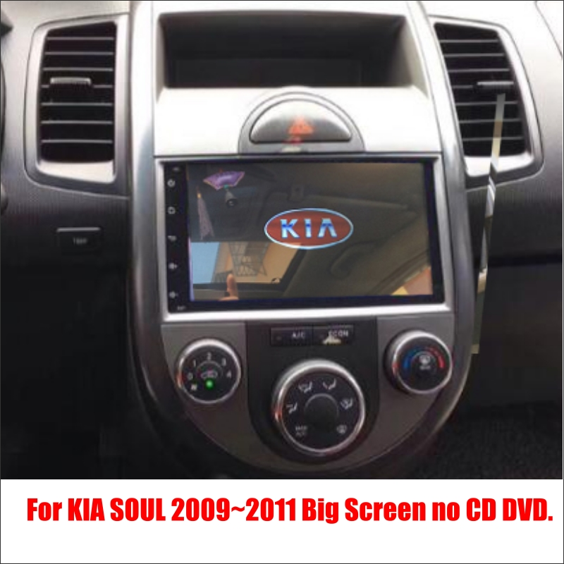 For KIA Soul 2009~2011 - Car Android Radio Player TV Screen GPS Navi Navigation Audio Video Wince Multimedia System no CD DVD plus size checked pin up skater midi dress