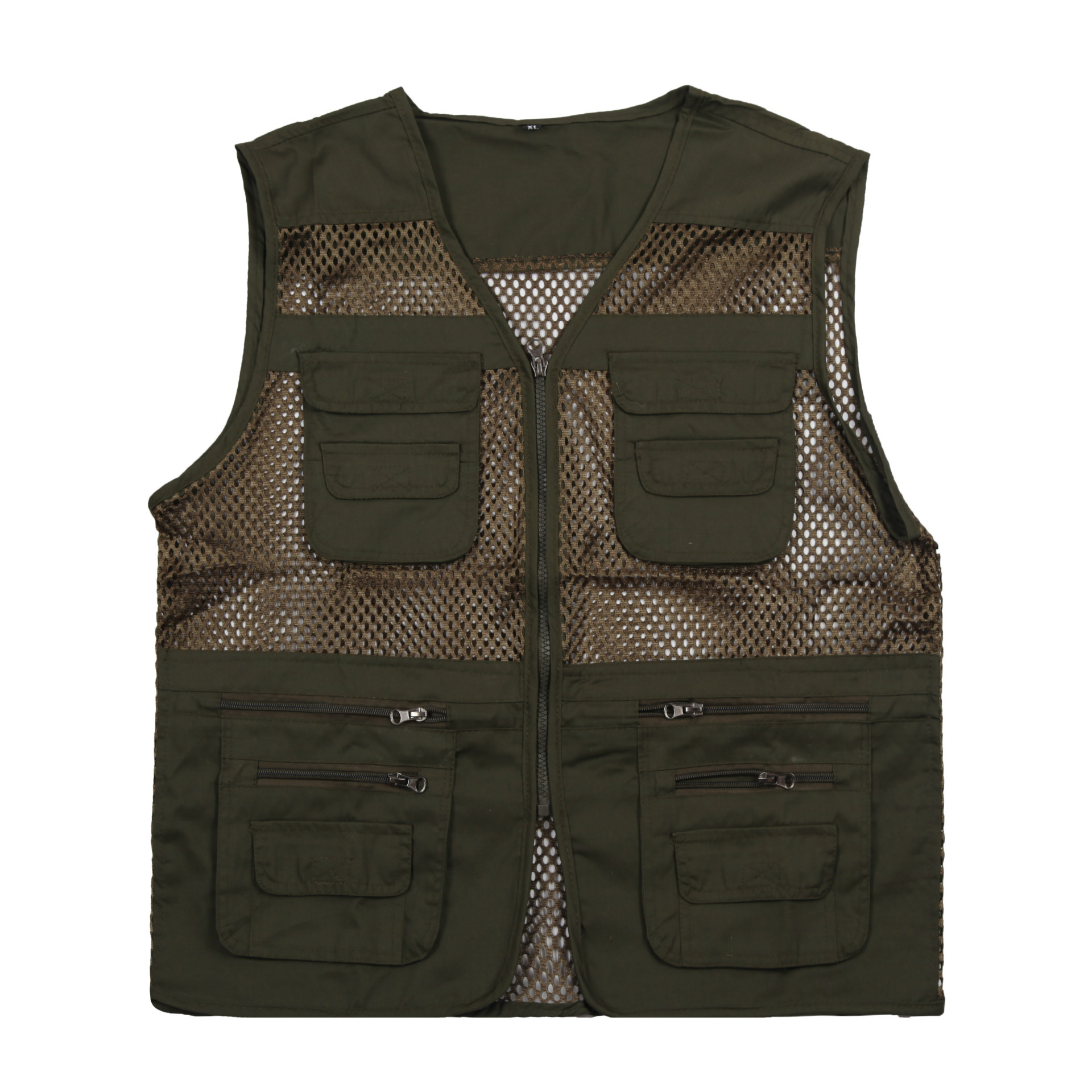 Fishing Vest Summer Outdoor Men Hiking Multi Pocket Waistcoat Photography Jacket