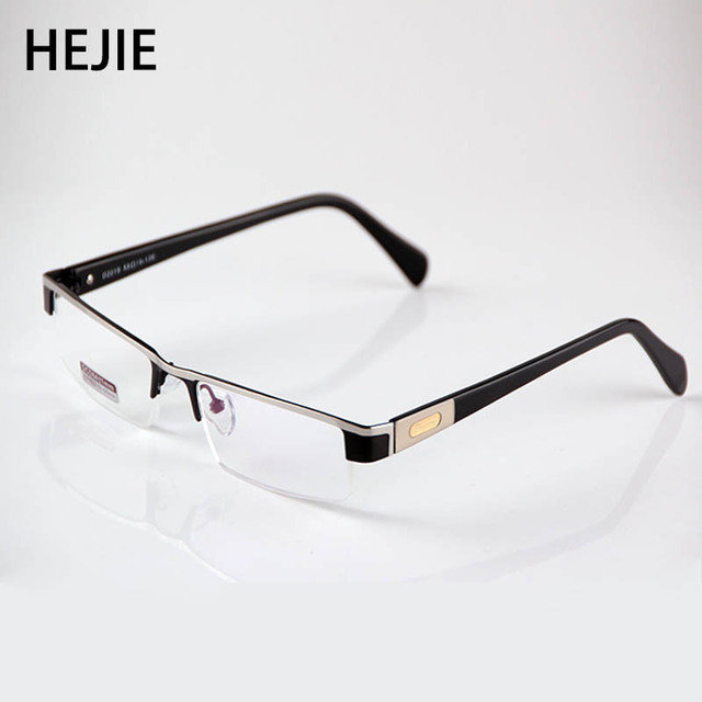 9fc2ad2a60 High Quality MEN Titanium alloy Eyeglasses Non spherical 12 Layer Coated lenses  reading glasses+0.75~+4.0 D2015