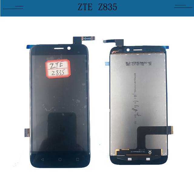 US $6 3 |5 0 inch black For ZTE Maven 3 Z835 LCD Display + Touch Screen  Digitizer assembly-in Mobile Phone LCDs from Cellphones &  Telecommunications