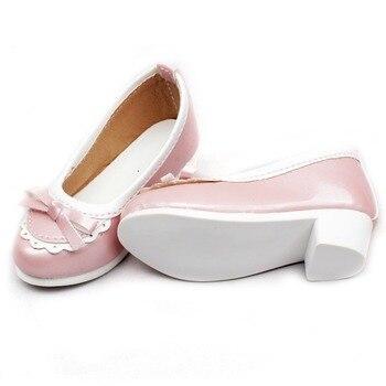 [ wamami ] 122# розовый 1/3 SD DOD бжд Dollfie середине каблуках Bowite синтетическая кожа обувь