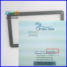 "Free shipping 10.1"" inch touch screen,100% New for Dragon Touch A1X touch panel,Tablet PC touch panel digitizer sensor"