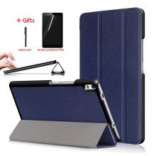 Tablet Leather Case For Lenovo Tab 4 8 plus TB-8704x TB-8704F TB-8704N Slim Magnetic Stand Cover For lenovo Tab 4 8 plus Case folio cover case for lenovo tab 4 tb 8504f tb 8504n 8 inch tablet 2017 release with stand pu leather protective case