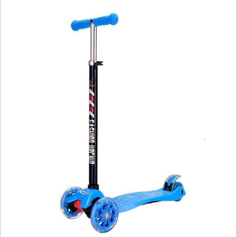 Adult Children Kick Scooter Foldable PU 2wheels Bodybuilding All Aluminum