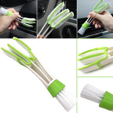 Car Washer Microfiber Brush Car Cleaning Brush Air-condition Cleaner Computer Keyboard Vent Window Supplies Versatile Cleaning(China)
