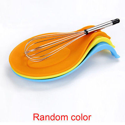 Random Color Multi Mat Kitchen Tools Silicone Mat Insulation Placemat Heat Resistant Put A Spoon