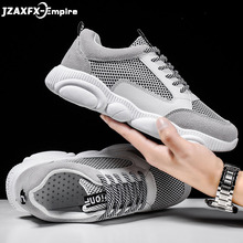 New Men Casual Shoes Fashion Breathable Patchwork Loafer Male Comfort Cool Flat  Mans Sneakers 2019