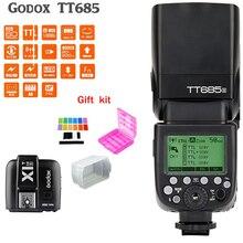 Godox TT685S Speedlite Flash Light GN60 1/8000s HSS TTL+ X1T-S Flash Transmitter (MI Shoe) for Sony A58 A7RII A7II A99 A7R
