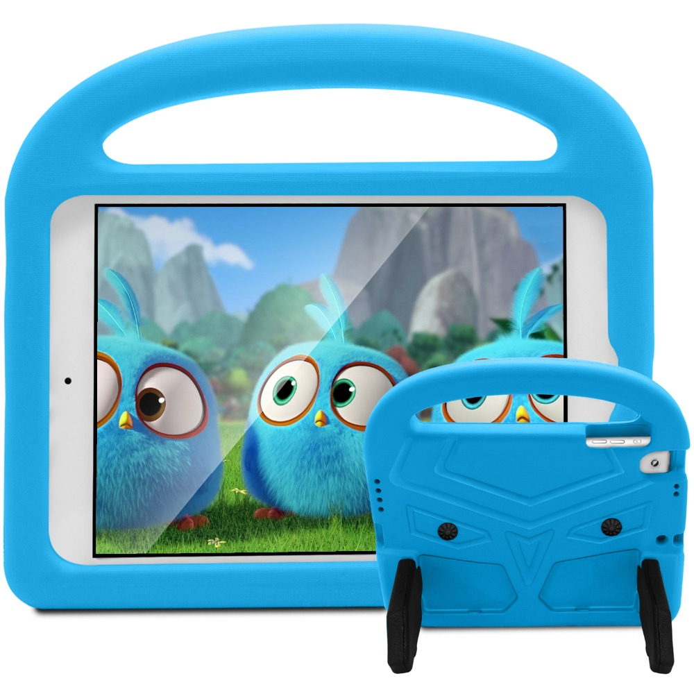 New For iPad Air 1 Air 2 iPad 9.7 2017 2018 Case Kids Silicon Cartoon Shockproof Stand for iPad 2018 Case Kids Children 9.7''    (5)