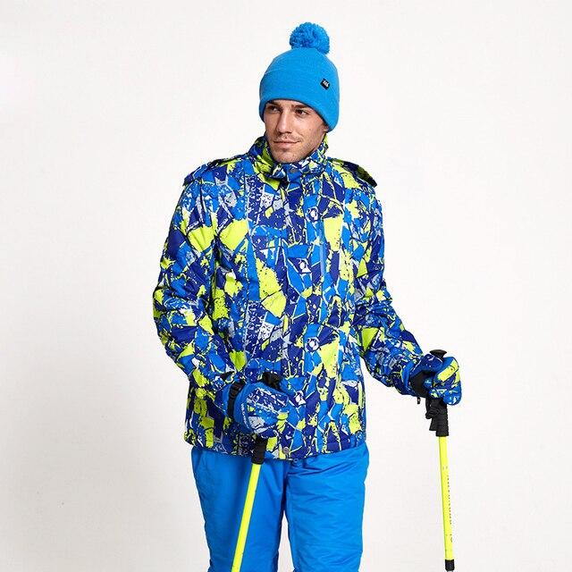 Ski jacket Men Winter New Outdoor Windproof Waterproof Thermal Male Snow Skiing And Snowboarding Ski Jacket Men coat parkas