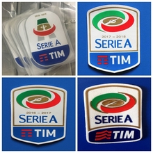 4c70bd05e New silicone Serie A 2016 2017 2018 2019 retro patch Print patches  badges