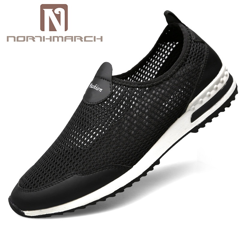 NORTHMARCH 2018 Men Sneakers Shoes Men Summer Casual Men Shoe Breathable Comfortable Slip On Mens Trainers Chaussure Homme Sport стоимость