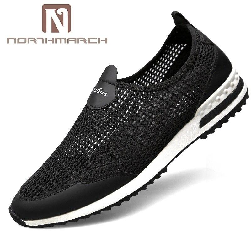 NORTHMARCH 2018 hommes baskets chaussures hommes décontracté hommes Chaussure respirant confortable sans lacet hommes formateurs Chaussure Homme Sport