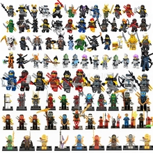 Legoing Ninjago Building Blocks Samukai Lloyd Jay Harumi Skylor Kai Zane Skullbreaker Iron Baron Legoings Figures Toys For Child(China)