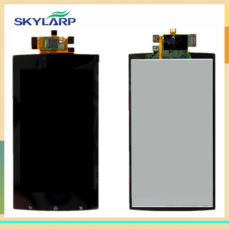 original LCD screen Module panel for Sony Ericsson Xperia Arc S X12 With Touch Screen Replacement