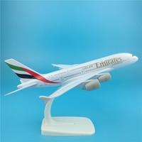 20CM A380 United Arab Emirates Aircraft Model Emirates 380 Metal Airplane Airbus Aviation Model Travel Art Collection Souvenir