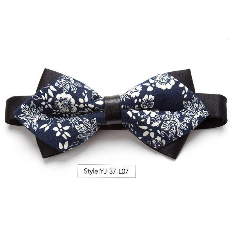 Nuovo Bowtie Del Fiore Dell'arco di Modo Cravatte per Gli Uomini Cravatta a Farfalla Regolabile Cravatte Regalo di Lusso Cravatta Camicia di Vestito Mens Bowtie