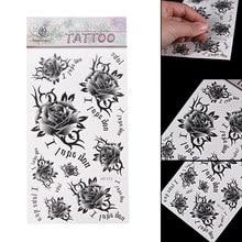 Watercolor Tattoo Flower Promotion Achetez Des Watercolor Tattoo