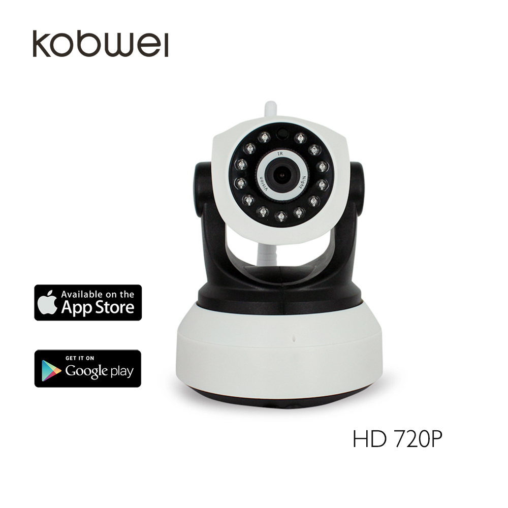 Easy to setup 720P HD P2P wireless WIFI HD IP camera
