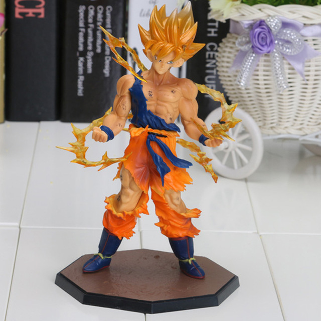 Us 756 10 Offanime 17cm Dragon Ball Z Action Figures Super Saiyan Son Goku Pvc Collectible Toy Model In Action Toy Figures From Toys Hobbies