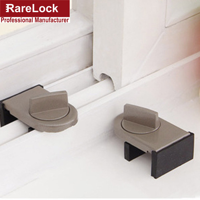 LHX BMMS318 Window Sliding Door Baby Safety Lock Doors Security Anti Theft  Sliding Sash Stopper