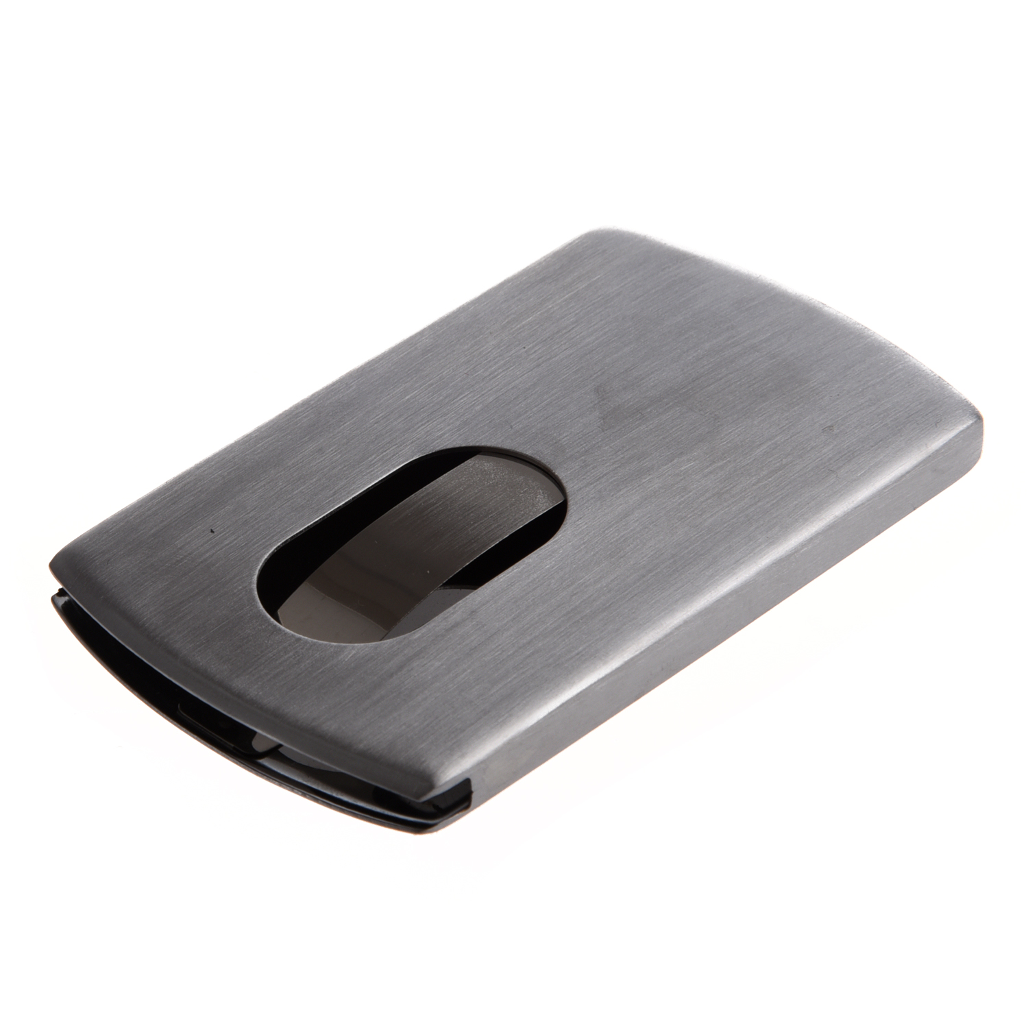 Case Box Visit / Credit Card Holder In Stainless Steel