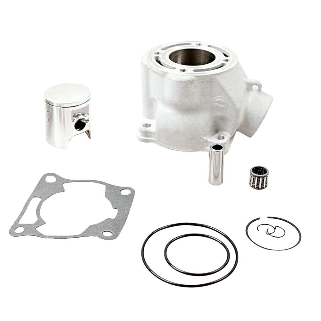 Kit d'extrémité supérieure de roulement de Piston de cylindre pour Yamaha YZ 85 2002-2014 YZ 80 1993-2001 Kits de cylindre de 48mm avec le joint de Piston