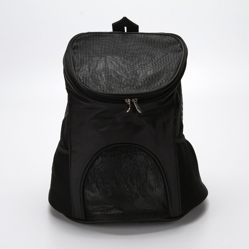 Pet Travel Outdoor Carry Cat Bag Backpack Carrier Products Supplies For Cats Dogs Transport Animal Small Pets Rabbit Black