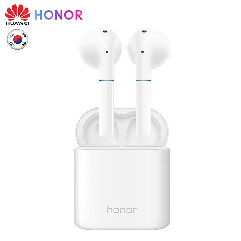Écouteurs Bluetooth binauraux sans fil HUAWEI Honor FlyPods CM-H2S contrôle tactile écouteurs étanche IP54 avec Dock de chargement micro