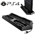 PS4 accessories Console Cooler Fan + controller Charging charger Dock Station Build-in 3 Port USB HUB Stand For PlayStation 4