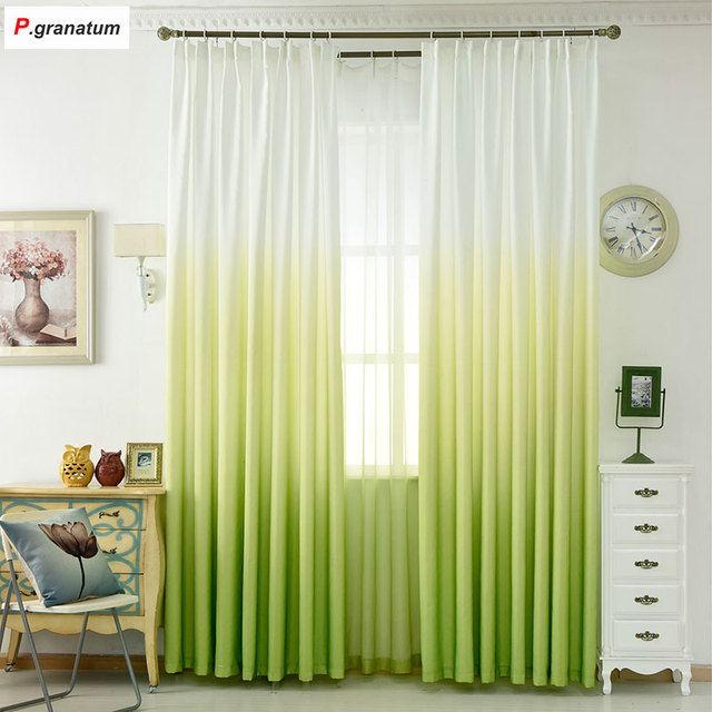 5 Color Window Curtain Living Room Modern Home Goods Window ...