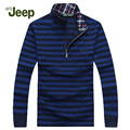 2016 Brand New AFS JEEP Men's Leisure sweater zipper long sleeve pullover men Low price knitwear mens sweaters 60